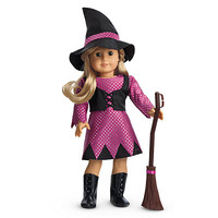 American Girl® Clothing: Witch Costume for Dolls + Charm