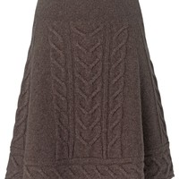 Phase Eight Heavy cable skirt Brown - House of Fraser