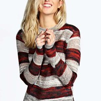 Ada Striped Soft Knit Jumper
