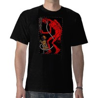 Krampus has a long tongue! t-shirts from Zazzle.com