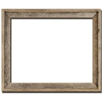 "16x20 - 2"" Wide Signature Reclaimed Rustic Barnwood Open Frame - No Glass Or Back"