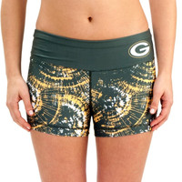 Green Bay Packers Women's Thematic Print Shorts – Green