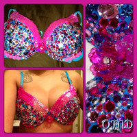 Glitz Princess Rave Bra