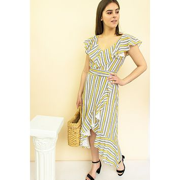 Breeland Striped Dress