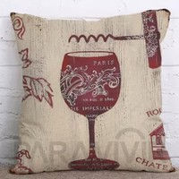 It's Wine Time Pillow Covers