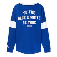 University of Kentucky Bling V-neck Varsity Crew - PINK - Victoria's Secret