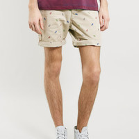 Stone Feather Mot Chino Shorts - Men's Shorts - Clothing