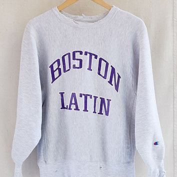 Vintage Champion Boston Latin Sweatshirt
