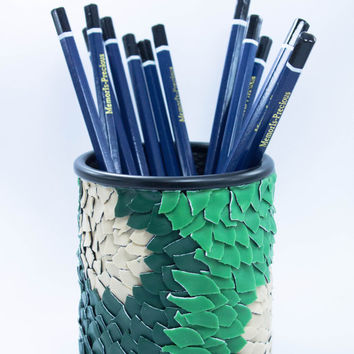 Desk Accessories Pencil Holder or Pen Holder - Recycled