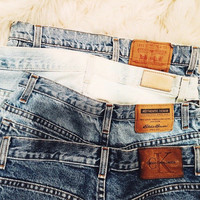 Vintage High Waisted Mom Jeans// ALL SIZES