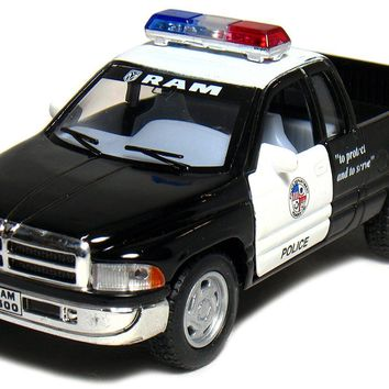 Dodge Ram Police Pickup Truck 1:44 Scale KT-5018.DP