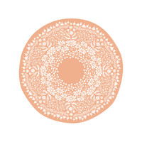 Flora Medallion Wall Art Prints by Laura Hankins | Minted