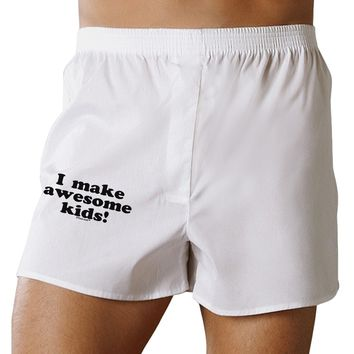 I Make Awesome Kids Boxers Shorts by TooLoud