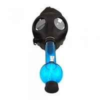 GAS MASK WITH WATER PIPE