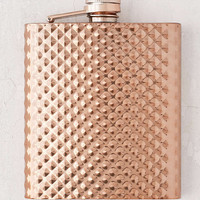 Faceted Flask - Urban Outfitters