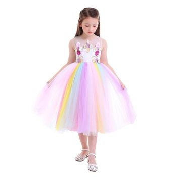 2019 Spring & Summer Rainbow Unicorn TuTu Dress Pre-Order