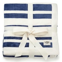 UGG 'Duffield' Stripe Throw