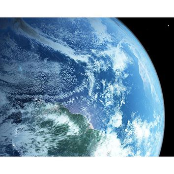Brewster Wallpaper WR50564 Earth from Space Wall Mural