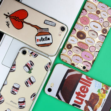 Nutella Case For iPhone 5 5S SE 6 6S 7 Plus For Samsung Galaxy S3 S4 S5 S6 S7 Edge S8 Plus J5 J3 A3 A5 2016 2017 Grand Prime