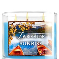3-Wick Candle Lakeside Sunrise