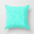Radiate (Mint) Throw Pillow by Jacqueline Maldonado | Society6
