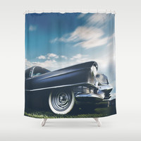 The Caddie Shower Curtain by HappyMelvin
