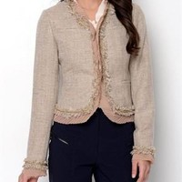 Insight Chain Accented Jacket - Insight Apparel for Her - Modnique.com