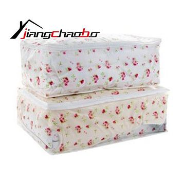 Storage Bags Home Storage Organization Waterproof Dustproof School Bags For Quilts Students + Size PEVA Bags quilt Storage Bag