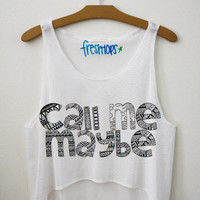 Call Me Maybe Fresh-Tops Crop Top | fresh-tops.com