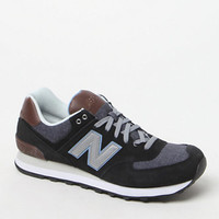 New Balance 574 Cruisin Black & Gray Shoes at PacSun.com