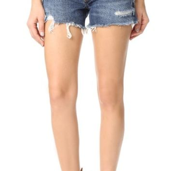 Parker Vintage Look Fit Cutoff Shorts