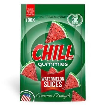 Chill Plus Gummies - CBD Infused Watermelon Slices