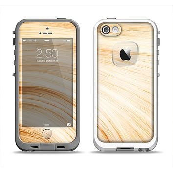 The Golden Hair Strands Apple iPhone 5-5s LifeProof Fre Case Skin Set