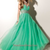 2012 New Ball gown Sweetheart Floor-length Prom Dresses Style 91010 ,Discount Prom Dresses