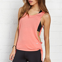 FOREVER 21 Knotted Workout Tank