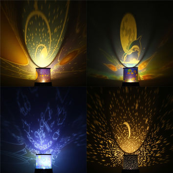 Multi-style Constellations / Starry Star Sky / Ocean / Universe LED Projector Lamp Cosmos Master Night Light Xmas Bed Kids Gift