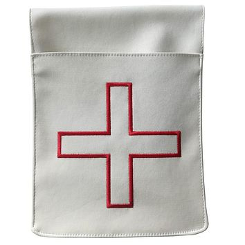 St. Thomas of Acon Belt Pocket Leather Pouch - Reversible