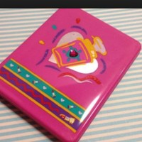 Vintage 80s Sanrio Compact mirror Awesome Large size Brought to you from Niftyvintagegirl from Niftyvintagegirl