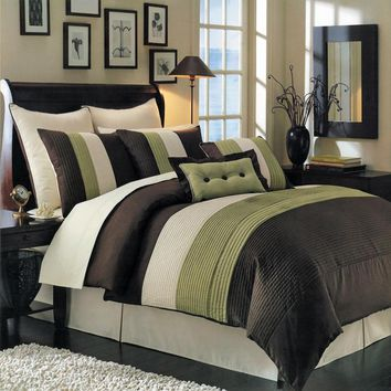 SAGE Hudson Luxury Comforter Set