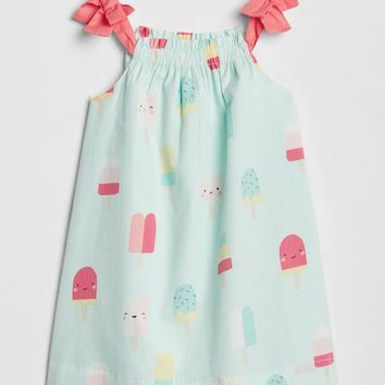 Popsicle Bow Dress|gap