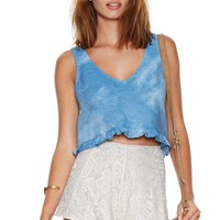 Nasty Gal Head in the Clouds Top
