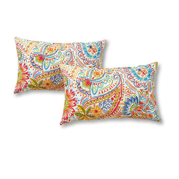 Coastal Collection Rectangle Outdoor Accent Pillows - SET OF 2