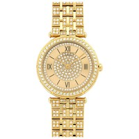 Van Cleef & Arpels Yellow Gold Diamond Bracelet Wristwatch