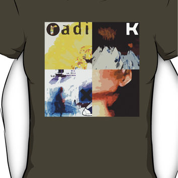 Radiohead Pop Art Women's T-Shirt