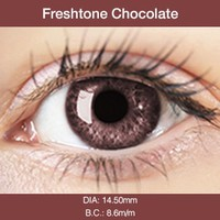 Chocolate Colored Contact Lenses