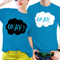 The Fault In Our Star Matching Shirts, Couples T Shirts, Funny Couple Shirts