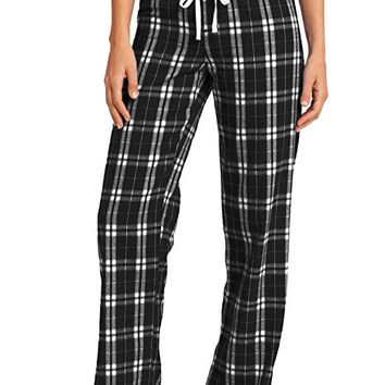 Juniors Flannel Plaid Pant. DT2800