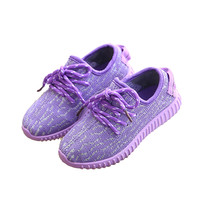 Girls Outdoors Shoes breathable sport soft bottom