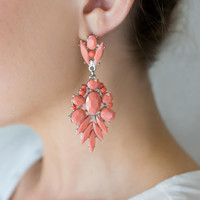 Ezra Earrings (pink)