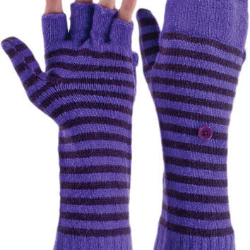 Bula Moss Knit Mittens with Glove Fingers